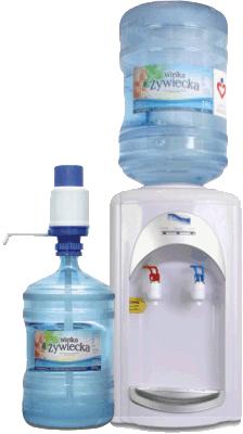 dystrybutor wody źródlanej